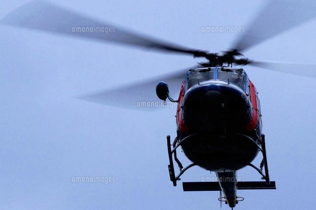 空撮するヘリコプター (c)GYRO PHOTOGRAPHY