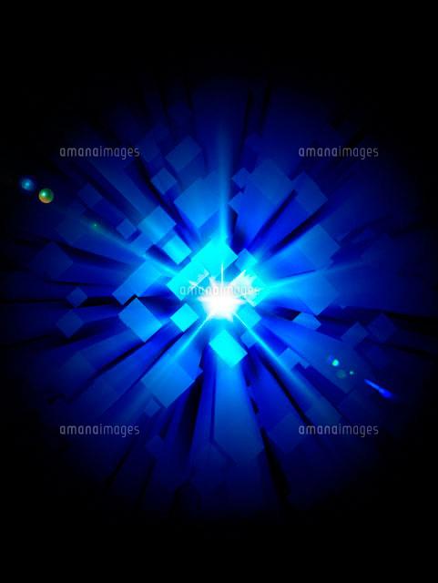 幾何図形と光のイメージ[10144000356]| 写真素材・ストックフォト・イラスト素材|アマナイメージズ