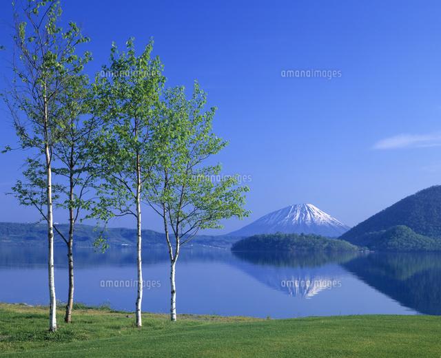 洞爺湖と羊蹄山 (c)ASO FUJITA/a.collectionRF