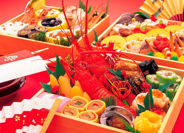 おせち料理[10173000587]| 写真素材・ストックフォト・イラスト素材|アマナイメージズ