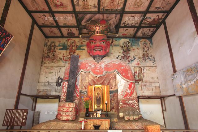 典厩寺の閻魔大王像