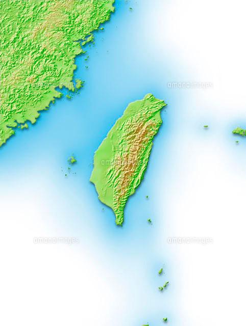 台湾周辺地図 (c)VGL/a.collectionRF