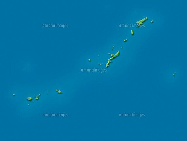 沖縄全島地図 (c)VGL/a.collectionRF