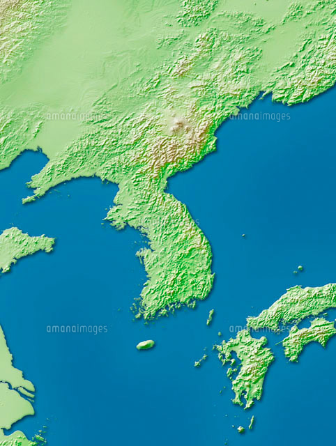 朝鮮半島周辺地図