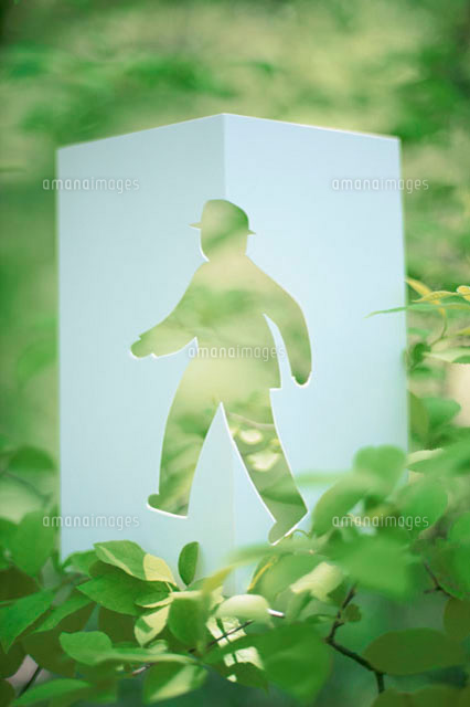 歩く人物のビジネスイメージ クラフト (c)Konno Noriyoshi/a.collectionRF