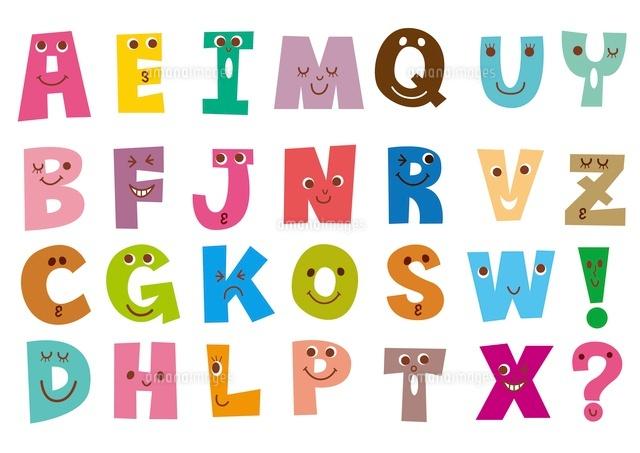 アルファベット表 (c)aque/a.collectionRF