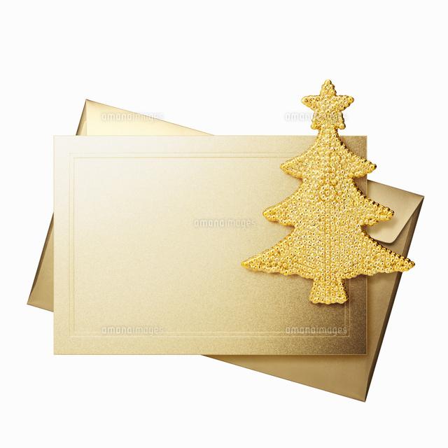 クリスマスカードとオーナメント (c)dkey/a.collectionRF