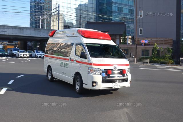 急行する救急車 (c)Keiji Kaneda/a.collectionRF