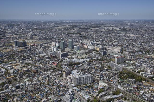 京成津田沼駅空撮 南東側より