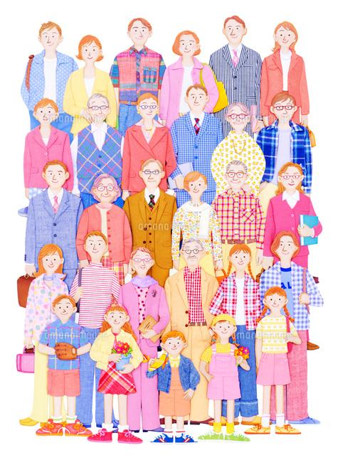 いろいろな人々 (c)KATSUHIKO YAMAGISHI/a.collectionRF
