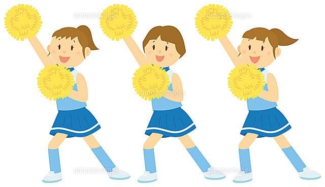 チアダンスを踊る女子中学生 (c)SOURCENEXT CORPORATION