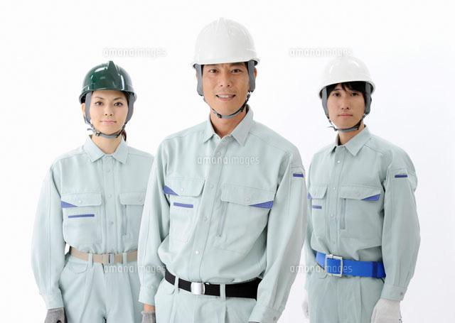 3人の建設作業員[11007061428]|...