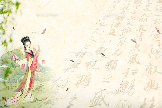 Chinese-styled painting of a woman (c)IMAGEMORE