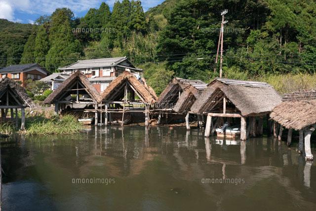 三方湖畔の舟小屋 (c)SOURCENEXT CORPORATION