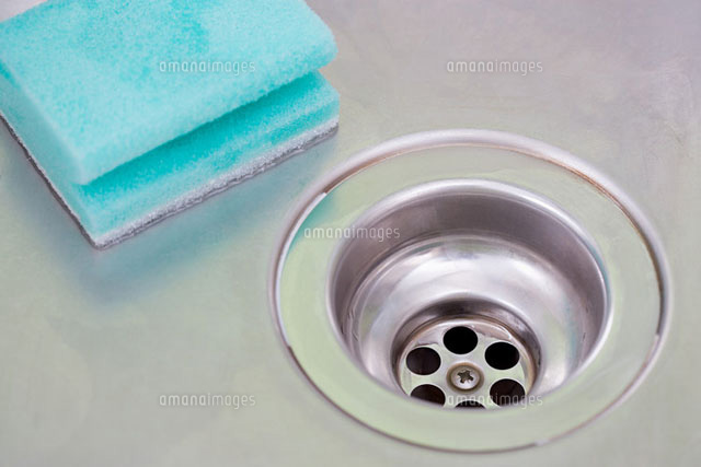 Plug hole and sponge (c)Image Source