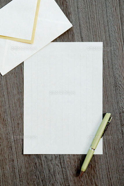 手紙とペン (c)visual supple