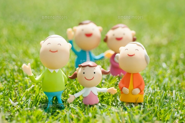 3世代家族のクラフト (c)visual supple