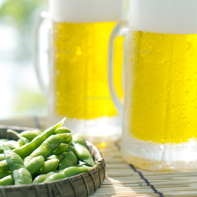 ビールと枝豆[11017013452]| 写真素材・ストックフォト・画像 ...