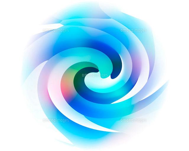 カラフルな渦イメージ CG[110190...