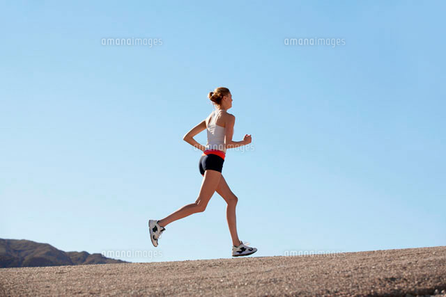 Young woman jogging (c)clover/a.collectionRF