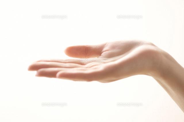 女性の掌[11031006427]  写真素...