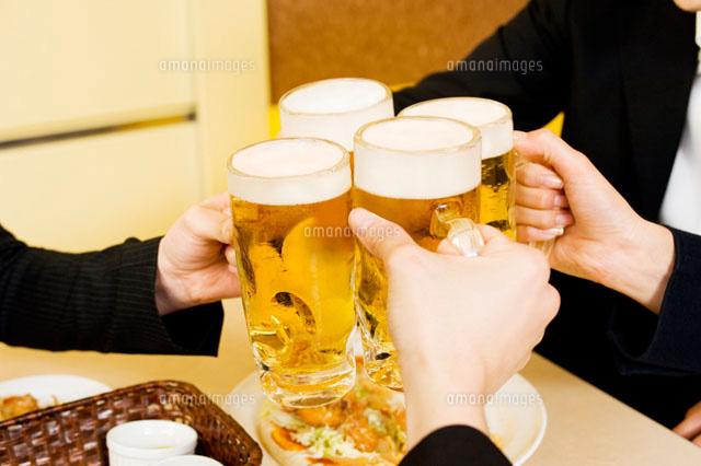 ビールで乾杯 (c)DAJ