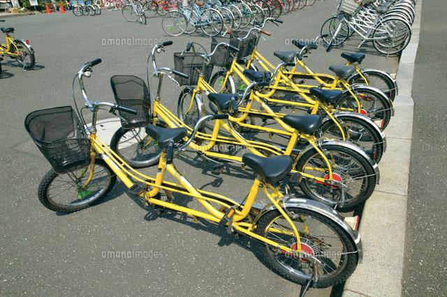 自転車の 自転車 二人乗り : 二人乗り自転車(c)GYRO PHOTOGRAPHY/a ...