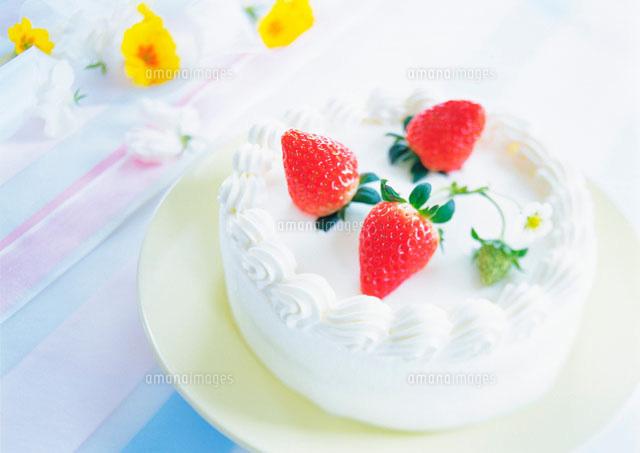 苺のケーキ (c)daj