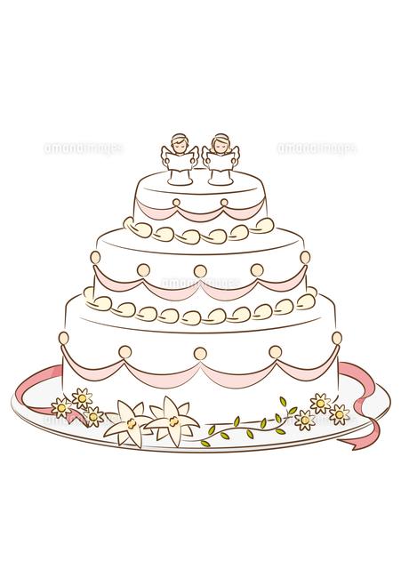 ウェディングケーキ[28144092202]| 写真素材・ストックフォト・イラスト素材|アマナイメージズ