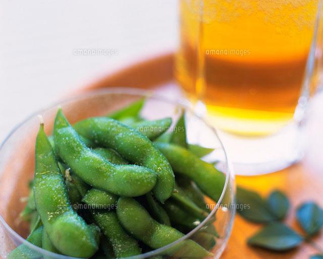 枝豆と生ビール[28144098737]| 写真素材・ストックフォト・画像 ...