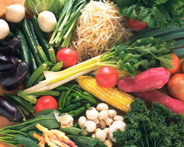 野菜の集合 (c)daj