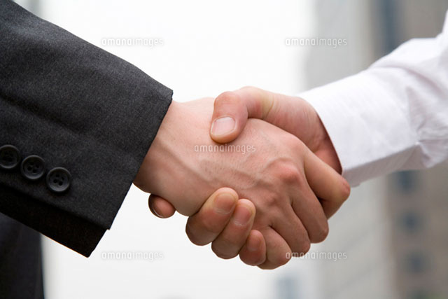 握手 (c)daj