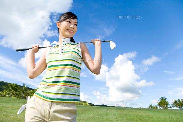日本人女性ゴルファー (c)daj