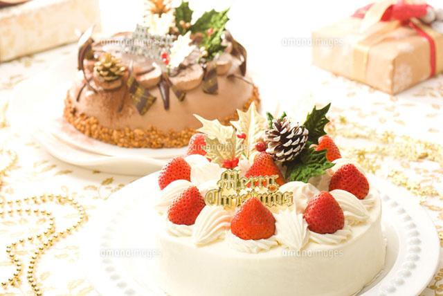 生クリームと生チョコのクリスマスケーキ (c)ELEMeNT