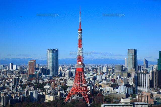 東京タワーと六本木の高層ビル (c)ELEMeNT