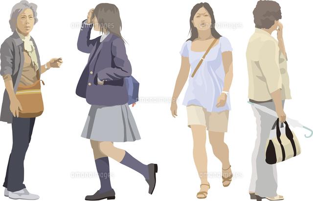 中高年女性・ヤング(4人) (c)STUDIO ASA/imagenavi
