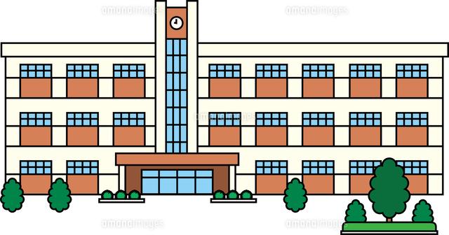 中学校 (c)MIXA CO.,LTD.
