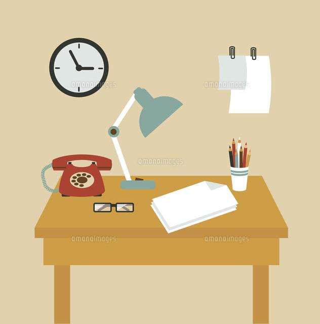 Secretary Desk illustration (c)Ingram Image