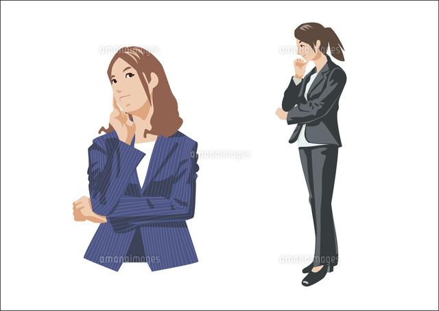 悩んだり考え事をしている女性 (c)YUJI TAKAHASHI/BUD international/a.collectionRF