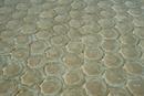 ホタテの貝殻の床