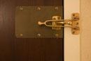 ホテルの補助鍵