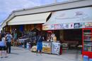 土産物とトルコ伝統のアイスクリームを売る店