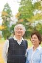 日本人のシニア夫妻