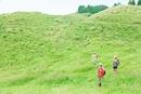トレッキングをする3人の日本人女性