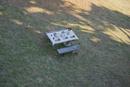 ティータイムのセットをされたテーブル