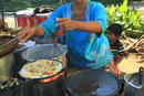 ミャンマー風ピザ バガン