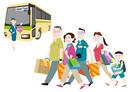 買い物(爆買い)をする中国人観光客