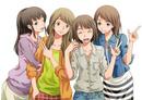 4人の仲良し女子学生