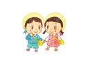 手をつないだ男の子と女の子 10482000009| 写真素材・ストックフォト・画像・イラスト素材|アマナイメージズ