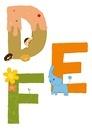 アルファベットDEF